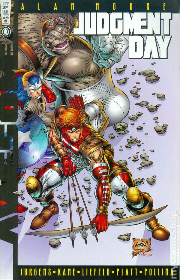 Judgment Day Final Judgment No.1 1997 Alan Moore /& Rob Liefeld