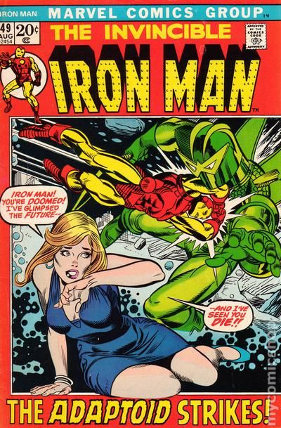 Iron Man comic books issue 49