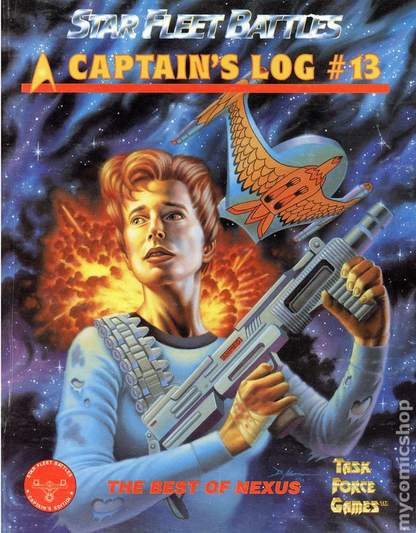 Star fleet battles captain 39 s log magazine 1983 task force for Bureau 13 game