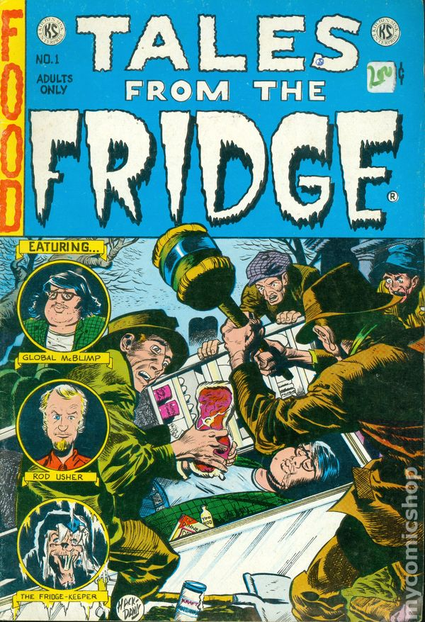 Tales from the Fridge (1973 Kitchen Sink) comic books