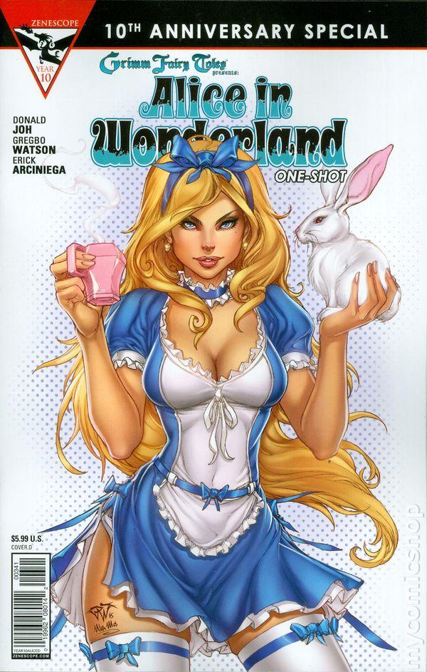 Grimm Fairy Tales Alice in Wonderland #1 D Variant Franchesco Zenescope