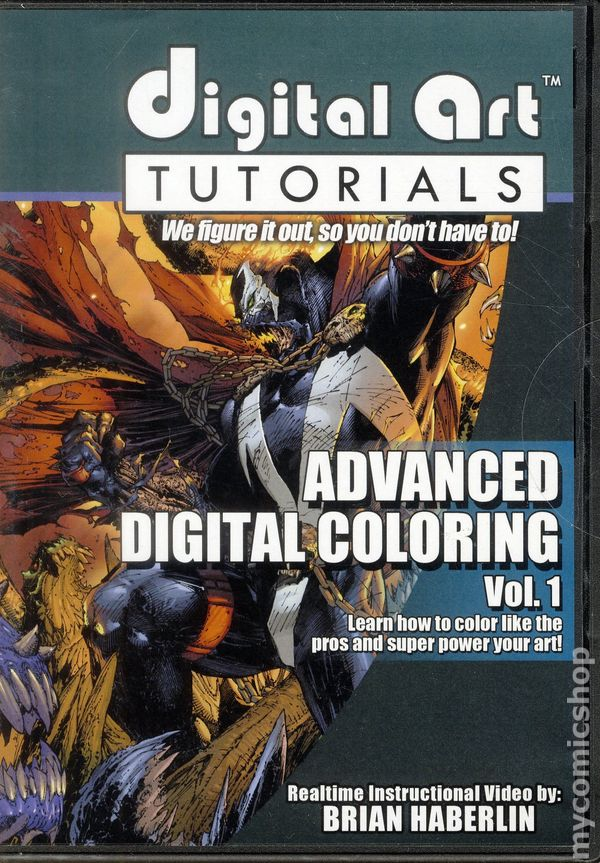 Digital Art Tutorials: Advanced Digital Coloring DVD (2015 Image ...
