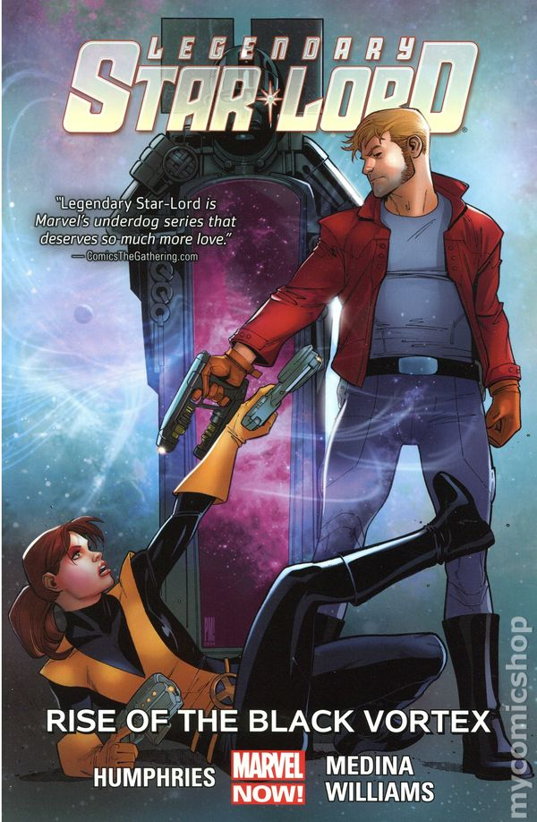 Legendary Star Lord TPB 2015 2016 Marvel NOW Guardians Of The Galaxy