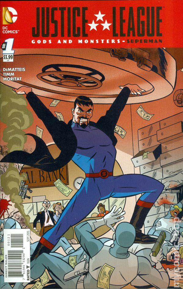 Justice League Gods and Monsters Superman (2015) 1A VF
