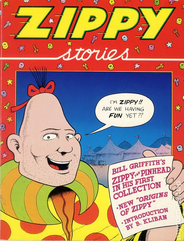 zippy stories tpb 1981 last gasp comic books