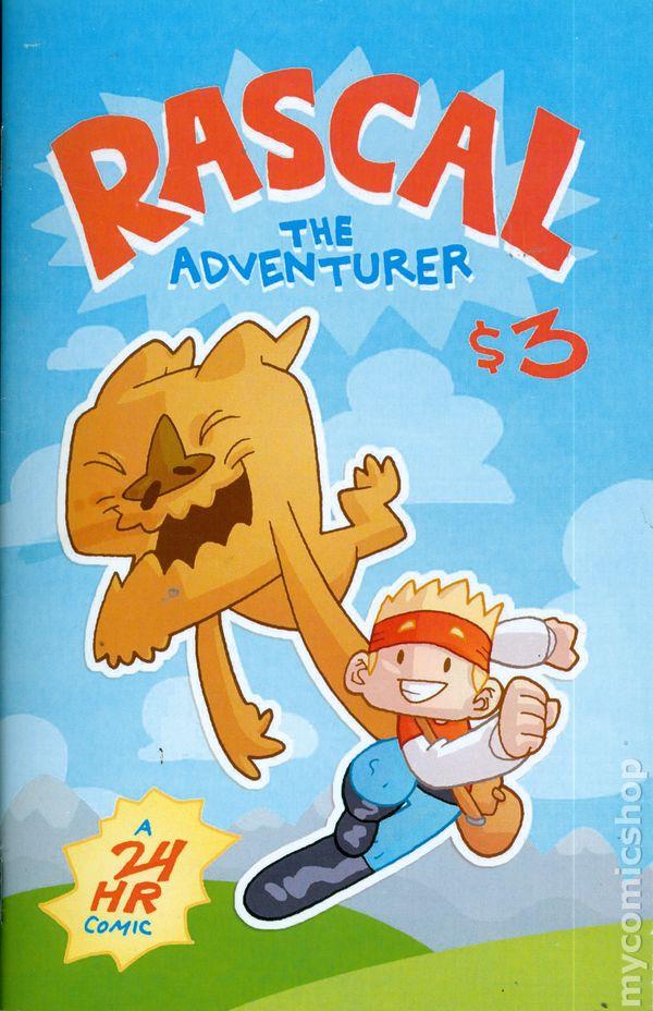 rascal the adventurer 2010 totally rad comics comic books