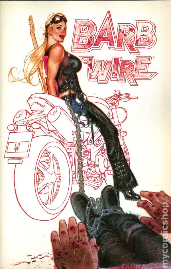 barb wire 2015 dark horse comic books