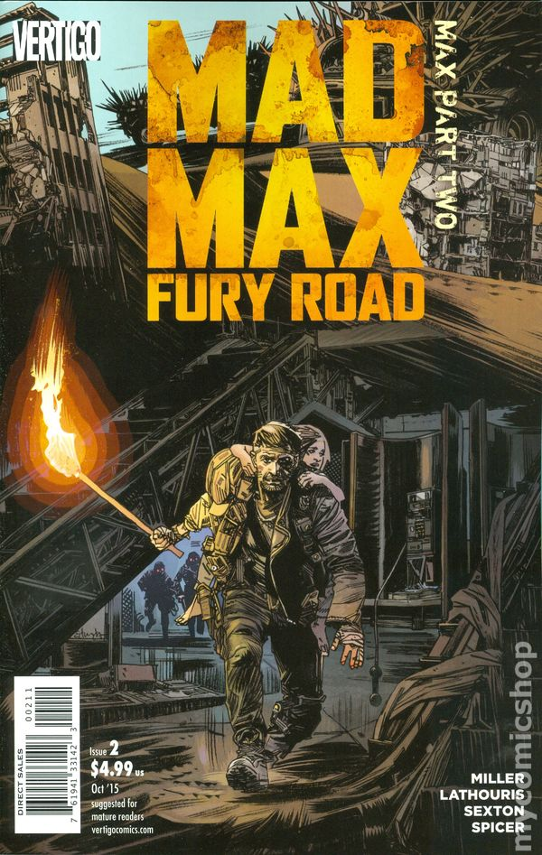 How Much Is Car Worth >> Mad Max Fury Road Mad Max (2015) comic books