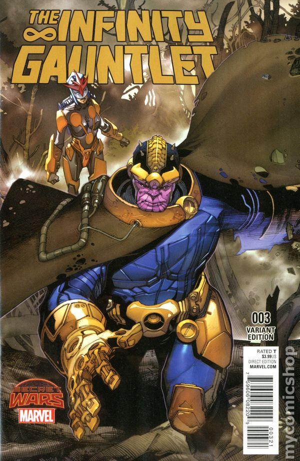 Infinity Gauntlet 2015 2nd Series Comic Books