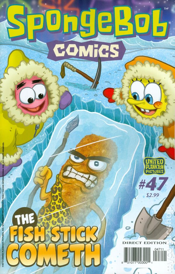 Spongebob Comics (2011 United Plankton Pictures) comic books