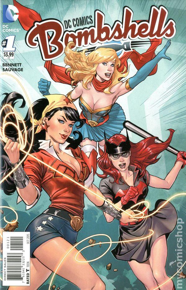 Dc Comics Bombshells 2015 Comic Books