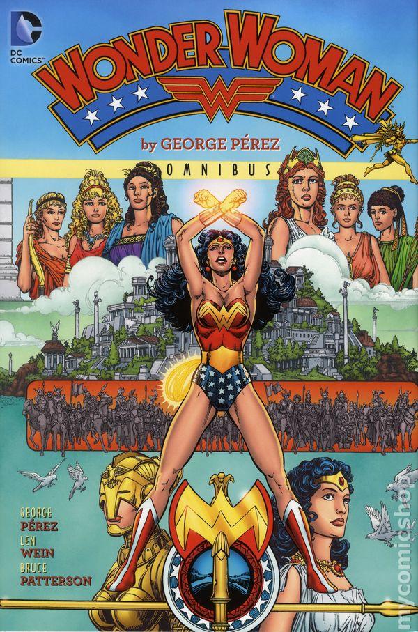 Wonder Woman Omnibus HC By George Perez #1-1ST