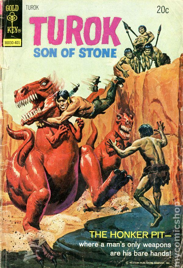 Turok Son Of Stone 1956 Mark Jewelers Comic Books