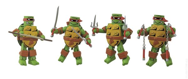 TMNT Teenage Mutant Ninja Turtles Minimates Mirage Color Donatello