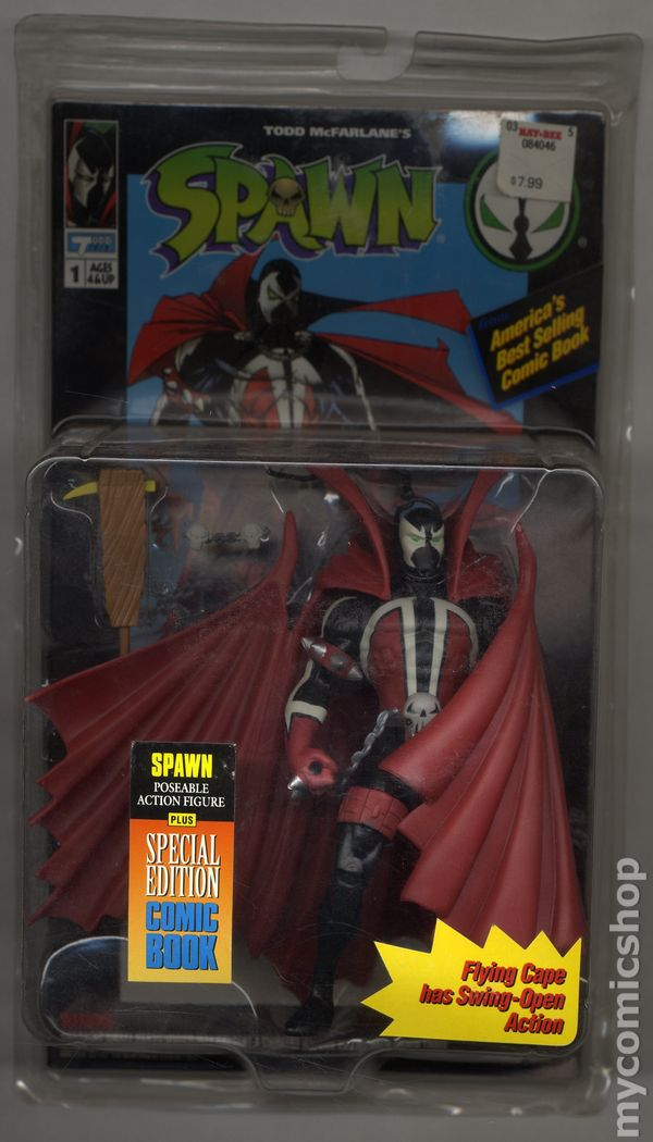 Todd Mcfarlane Toys 1994 America/'s Best Selling Comic Book The Violator Figure
