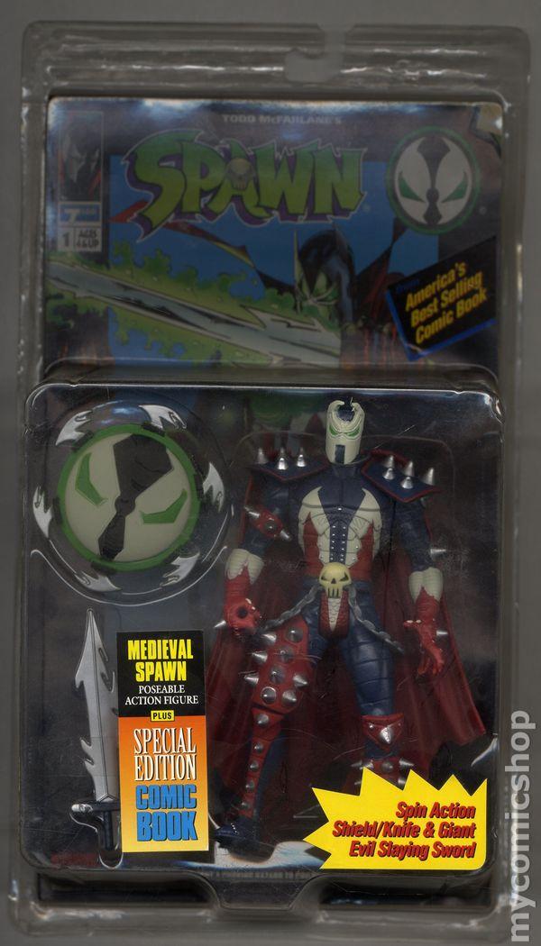 Spawn Action Figure 1994 Mcfarlane Toys Series 1 Comic Books 1992 1994