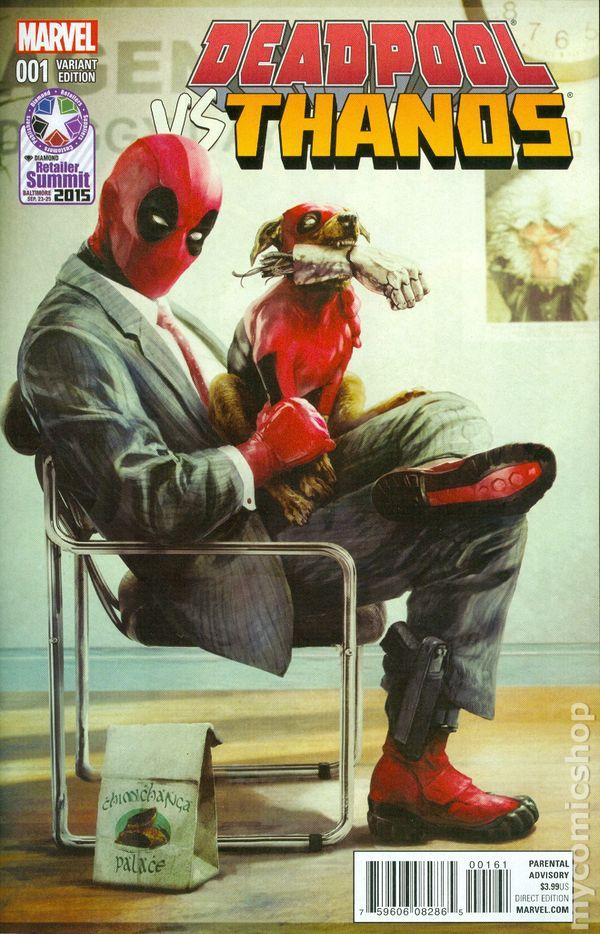 Deadpool Vs Thanos 2015 Comic Books
