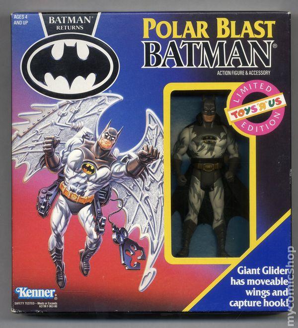 batman returns action figure and accessories 1991 kenner