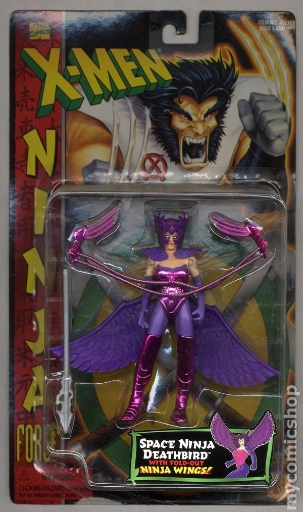 Marvel X-Men Form Shifters Morph Toy Biz Actionfigur Action- & Spielfiguren Mega Mutant Missle