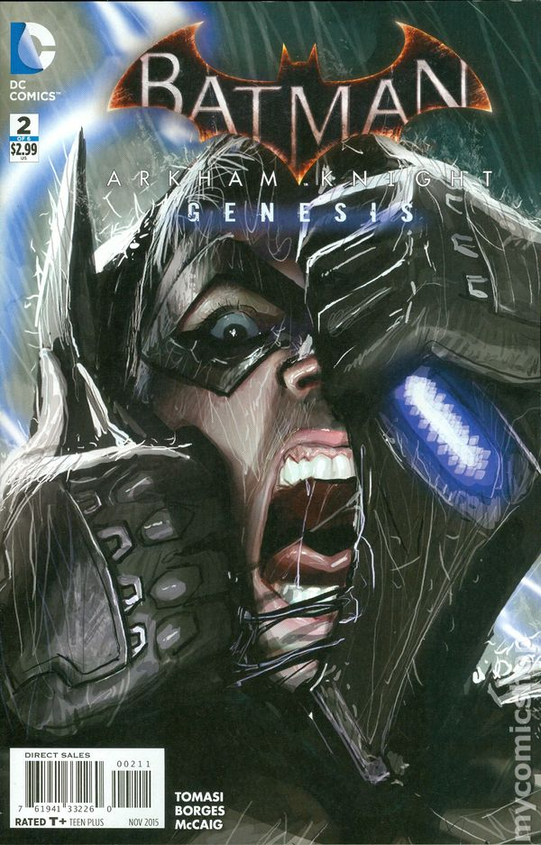 Batman Arkham Knight Genesis 2015 Comic Books