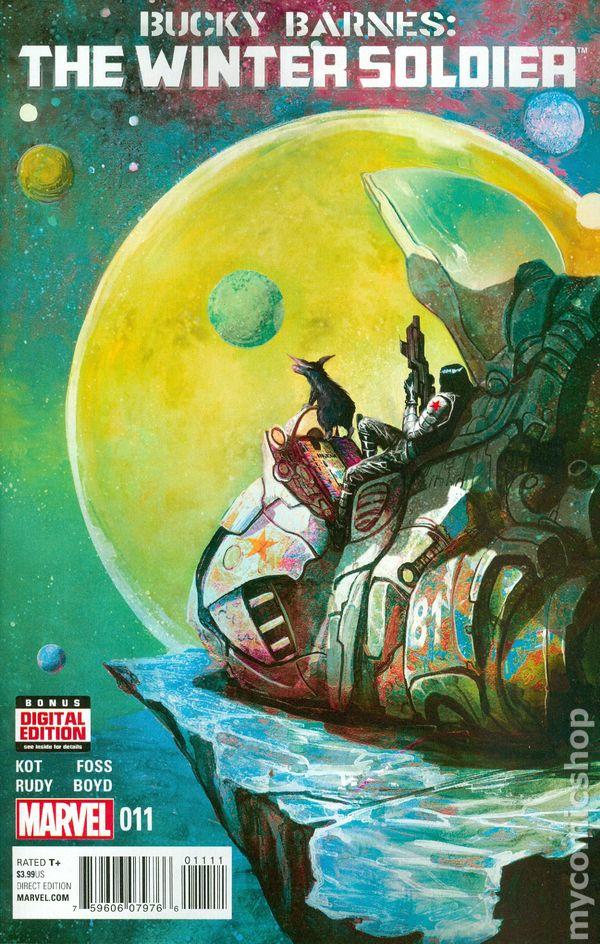 Bucky Barnes Winter Soldier 2014 Comic Books