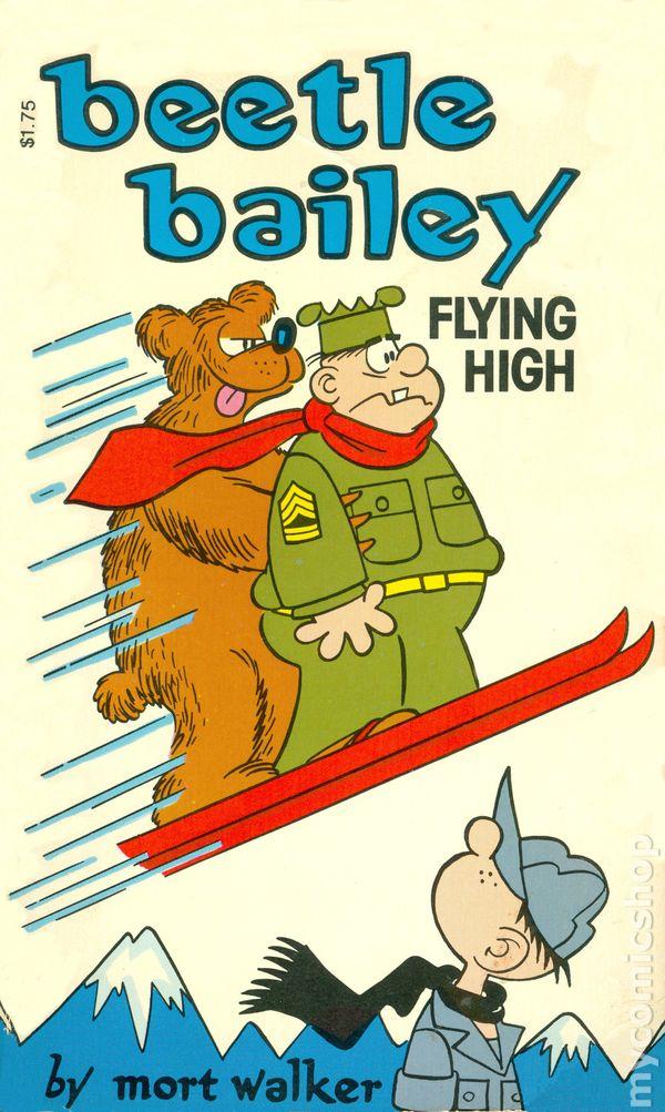 Beetle Bailey Flying High PB (1982 Tom Doherty) comic books