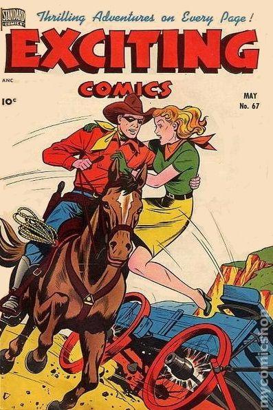 Exciting Comics 1940 Comic Books