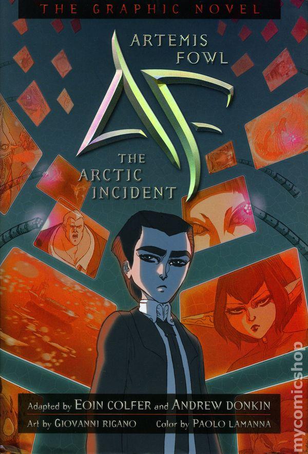 Comic Books In Artemis Fowl Hc Disney Hyperion