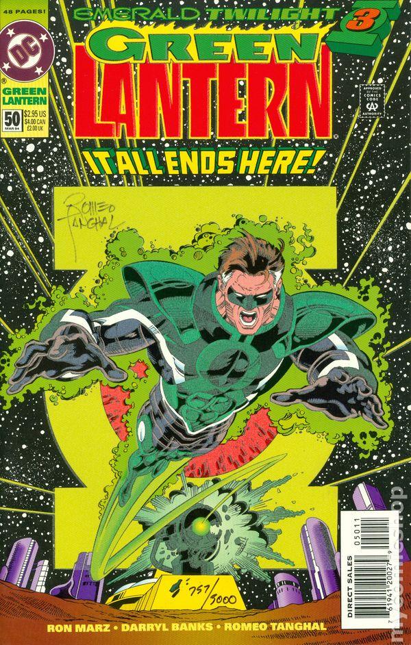 Green Lanterns #50A Perkins Variant VF 2018 Stock Image