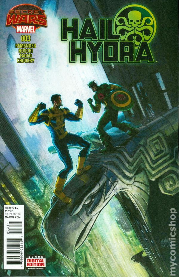 Could Captain America Actually Be HYDRA?