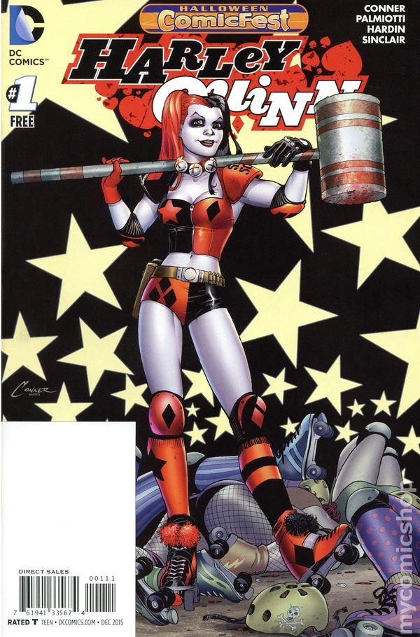 Harley quinn comic books issue 1