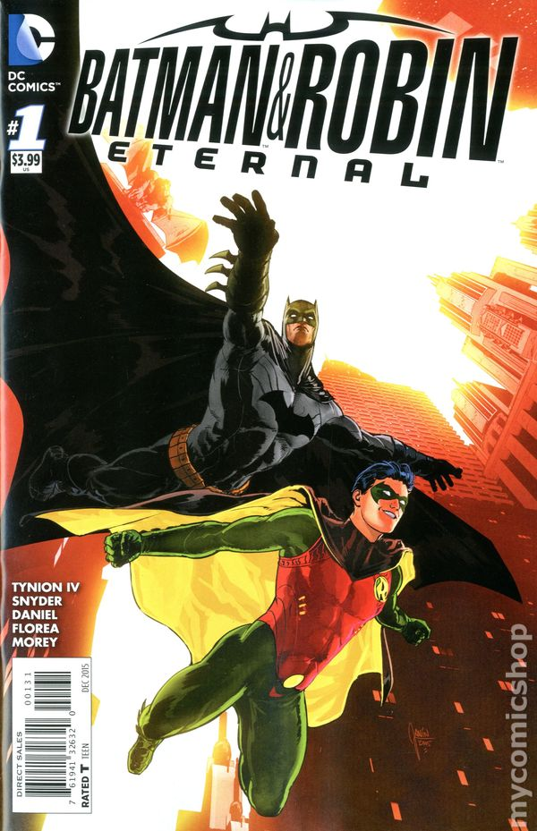 2015 #24 VF//NM Batman and Robin Eternal