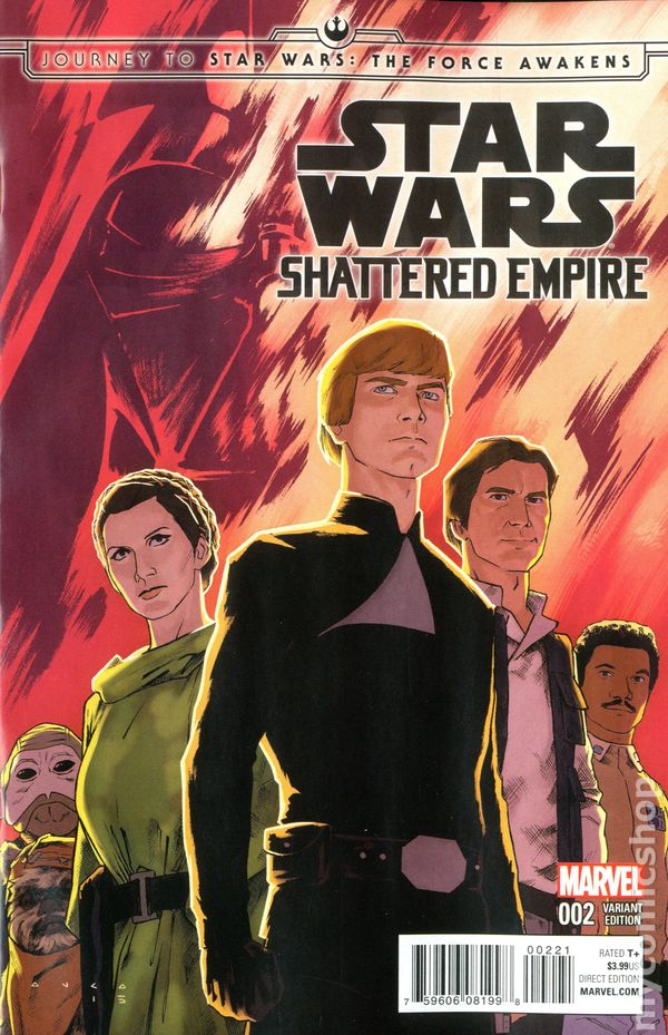Journey To Star Wars The Force Awakens Shattered Empire 2015 Comic