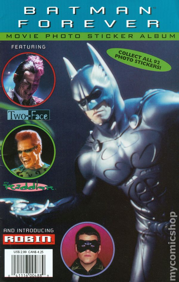 Batman forever sticker album 1995 comic books