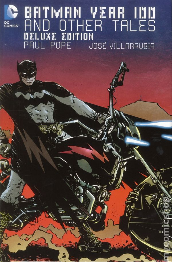 Batman Year One Deluxe Edition Hardcover DC Comics (2012)
