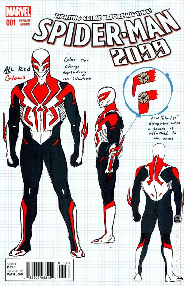 SpiderMan 2099 2015 3rd Series comic books