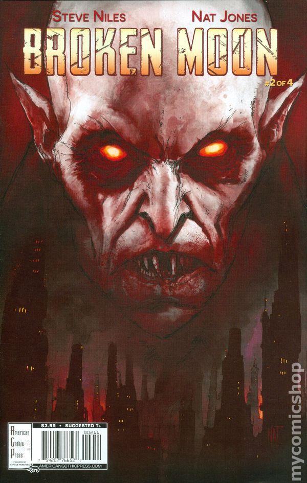 BROKEN MOON #4 Regular Cover Jones American Gothic Press 2015 VF//NM Vault 35