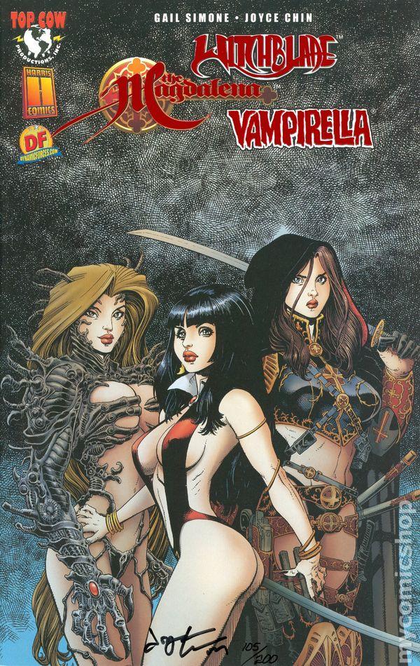 Tomb Raider / Witchblade / Magdalena / Vampirella 1c (Top