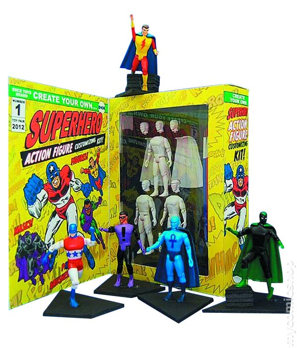 Create Your Own Action Figure Customizing Kit 2013-2014 -8945