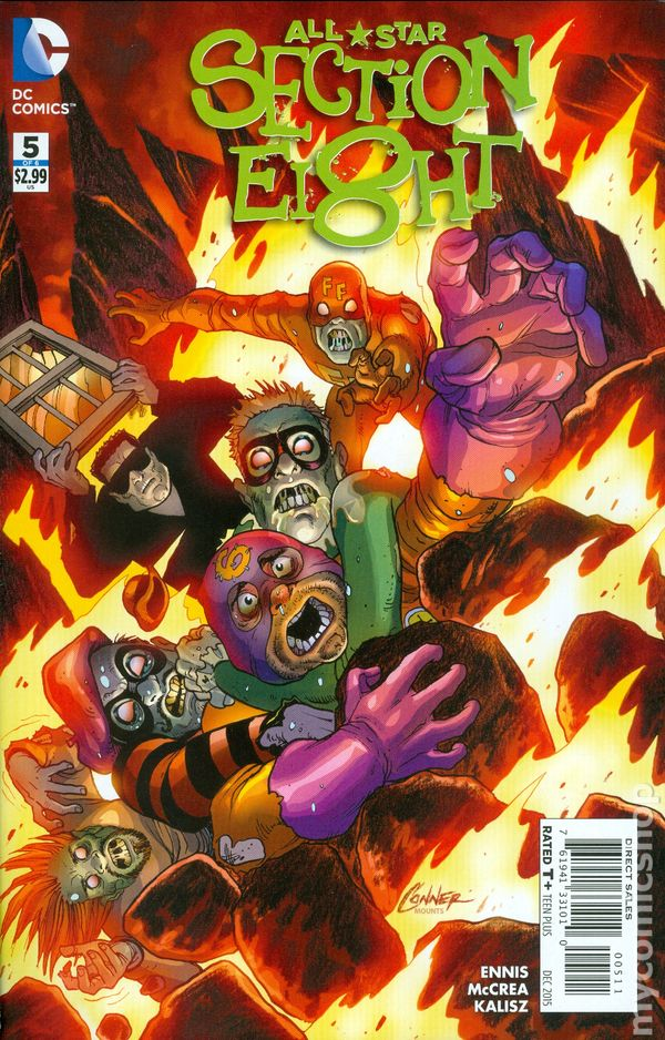 All Star Section 8 2015 Dc Comic Books