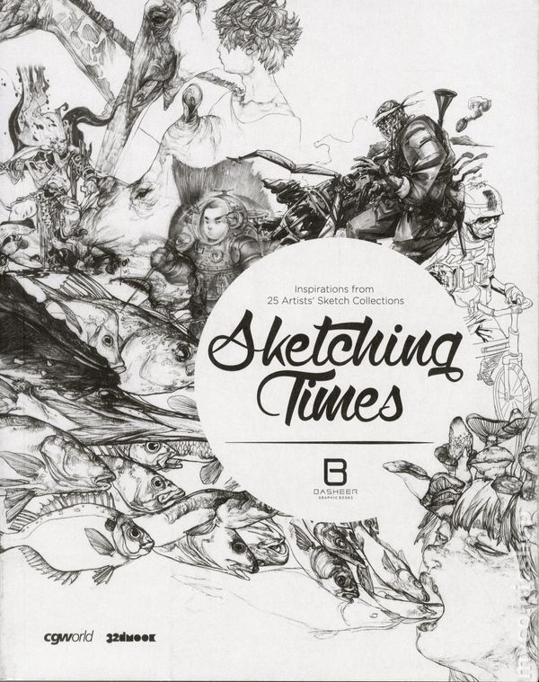 Image result for Sketching Times: Inspiration from 25 Artists' Sketch Selections Vol's 1-2