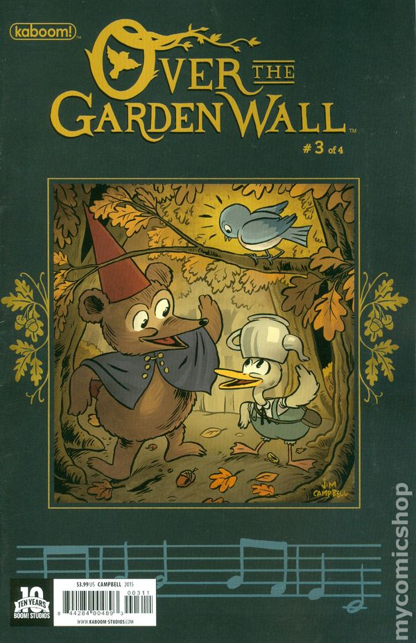 Over The Garden Wall 2015 Boom Comic Books