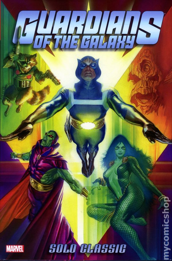 Guardians of the Galaxy Solo Classic Omnibus HC #1-1ST