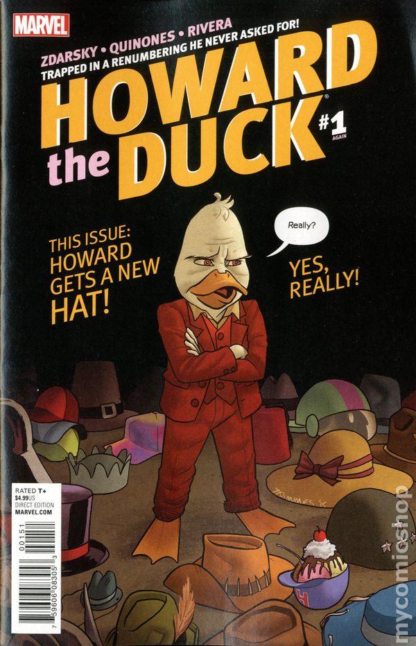 Howard The Duck 2015 5th Series Comic Books