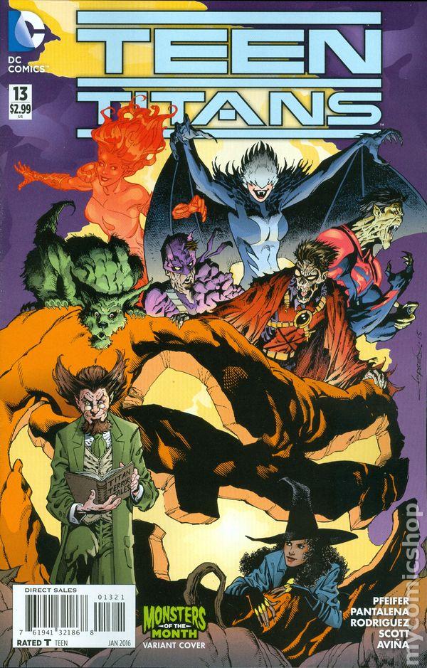Teen Titans 2014 5Th Series Comic Books-2042