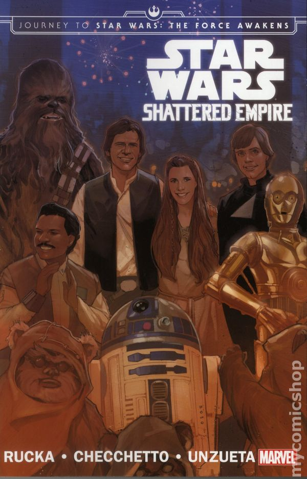 Star Wars Shattered Empire Tpb 2015 Marvel Journey To Star Wars