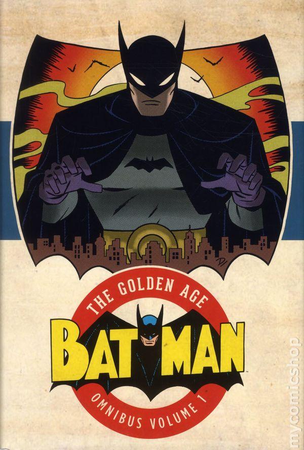 Batman The Golden Age Omnibus HC #1-1ST