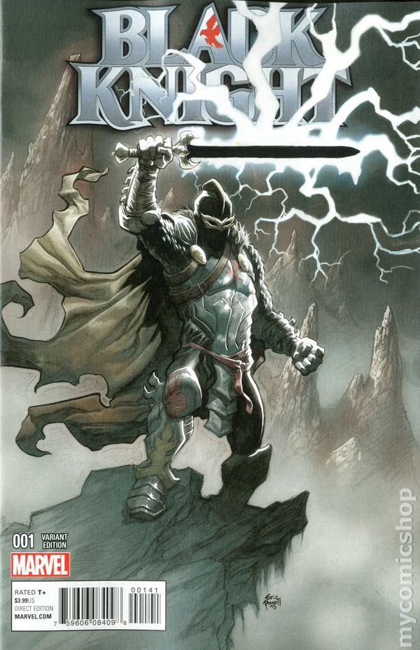 The Uncanny Avengers Black Knight No.2 2016 Black Knight vs