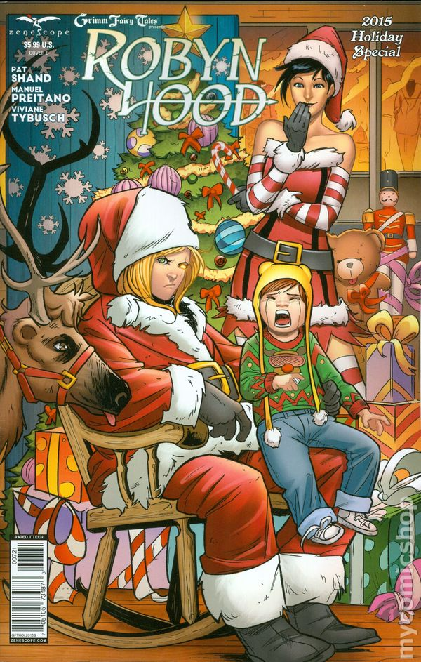 Grimm Fairy Tales Holiday Special 2009 Zenescope Comic Books