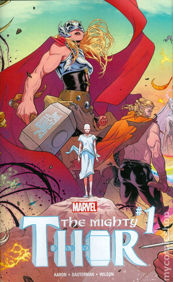 The Mighty Thor #1 Photo Variant Marvel Comic Book NM